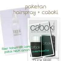 paketan caboki and hair spray topik
