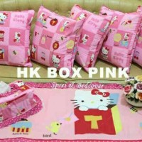 SARUNG BANTAL SOFA SET EXCLUSIVE *HELLO KITTY BOX*