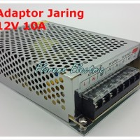 Adaptor / Power Supply 12V 10A Model Jaring
