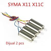 SYMA X11 X11C Parts Motor Dinamo Spare Part