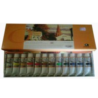 Maries Oil Colour Set Type 1386 12warna