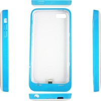 Rapid Power Bank Case For Iphone 5/5S/5C DF 204 - 2200mah -Putih-Biru