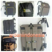 TAS KAMERA BACKPACK NAT GEO, CANON, NIKON