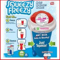 Squeezy Freezy Slushy Ice Maker / Minuman Shake Milk