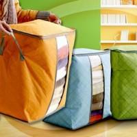 Storage box tidur warna tempat pakaian celana selimut rumah tangga top