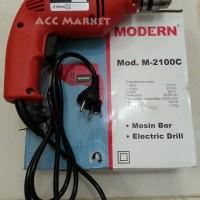 Mesin Bor Drill Modern SIM-2100C untuk Kayu Besi Baja Ringan