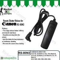 Remote Shutter Release for Canon RS-80N3 (50D/40D/30D/20D/10D/7D/5D)