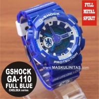 Jam Tangan Casio G-Shock Chelsea GA-110 Full Blue