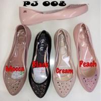 harga Sepatu Flat Jelly Shoes Cewek Wanita PJ 008 Blink Cantik Murah Tokopedia.com