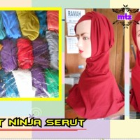 harga ciput ninja serut, inner ninja serut, inner jilbab Tokopedia.com