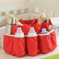Baby Diaper Bag Polos Organizer (Tas botol susu bayi / balita)