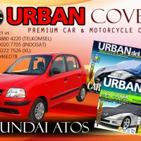 HYUNDAI ATOS BLACK SILVER COVER SELIMUT MOBIL URBAN ANTI AIR