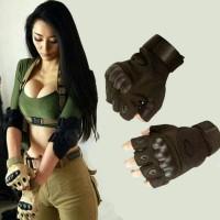 harga sarung tangan tentara/sarung tangan bikers/asesoris pengendara motor Tokopedia.com