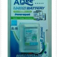 harga Nokia BL-5B/BL5B/BL 5B For 3220, 6120C, 5320, 5300 ADSS Baterai. Tokopedia.com