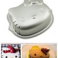loyang Cetakan Bolu Hello Kitty kue roti tart nasi es coklat puding
