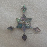 Inlay Cross Abalone