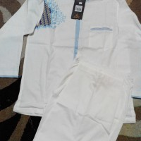 Baju Koko Anak Al Luthfi pjg stelan + celana