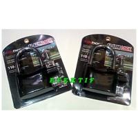 Gembok Alarm Kinbar Hitam Ring Panjang (12 Cm) | Gembok Motor Alarm