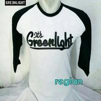 t-shirt/kaos raglan/kaos green light/kaos Oblong