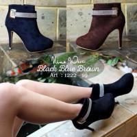 sepatu nine west , sepatu boot , boot Import , boot branded Import