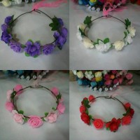 FLOWER CROWN/ Mahkota bunga MIX : Gabriell accessories