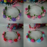 FLOWER CROWN/ Mahkota bunga MIX3 : Gabriell accessories