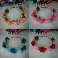 FLOWER CROWN /Mahkota bunga MIX2 : Gabriell accessories