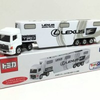 Tomica Long Lexus Gazoo Racing Transpoter Toyota ToysRus Exclusive