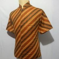 Jual Kemeja Batik Koko Shanghai Pria Baju Muslim Cowok BK28 Murah