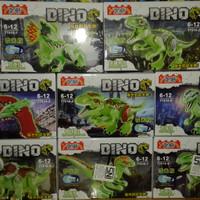 Lego Dino Yg 77010 Jurassic World Dinosaurus Luminous (1set)