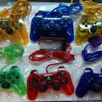 Stik Joystik Warna Transparan Ps2