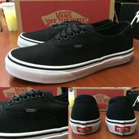 Sepatu Vans Authentic Black Dop Original Premium Quality BNIB