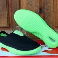 Sandal Nike Solarsoft Slop Hitam Hijau / Sendal / Adidas / New Balance