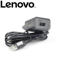 Official Lenovo Travel Cas Charger USB a6000 a7000 Original 100%