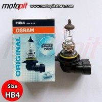Osram Halogen HB4 51W Original Spare Part Bohlam Lampu Standar