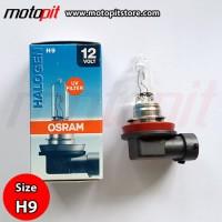 Osram Halogen H9 65W Original Spare Part Bohlam Lampu Standar