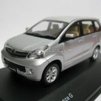 Toyota Avanza G Silver (Diecast Miniatur Mobil 1/43 Rims)
