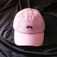 Stussy Lo Pro Strapback Cap Pink