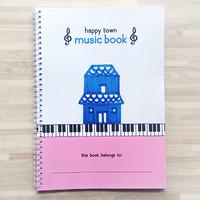 Happy Town - House / Music Piano Sheet Book / Buku Musik Not Balok