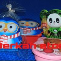 Souvenir ULANG Tahun anak ( tempat nasi , kotak makan )