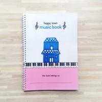 Happy Town House Music Book - Buku Musik / Piano Anak