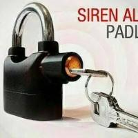 Gembok Alarm Kecil / Lock Elektrik / Kunci Anti Maling