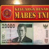 Stiker Sticker Keluarga Besar Mabes TNI Persegi untuk Mobil Motor