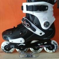 INLINE SKATE SEBA FR1 WHITE BLACK