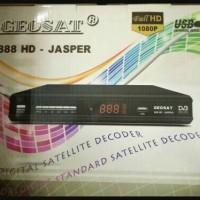 Receiver Parabola Geosat 888 HD Jasper Bisskey, Power Vu, Cccamd, FTA