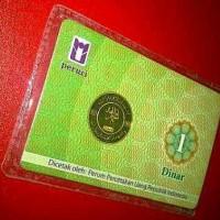 Koin Emas Dinar 22 K 4.25 Gram Cetakan Peruri