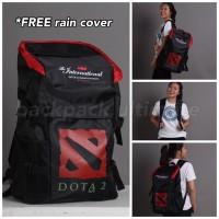 Tas Sekolah Gaming Dota 2 Dota2 Backpack Ultimate Ransel Bag Bags