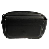 Golden Wallet Case Smartphone for BlackBERRY Q10 - Black