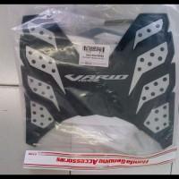 harga Rubber Step Karpet Honda New Vario 125 - 150 ESP / Techno Hitam Silver Tokopedia.com