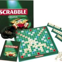 Mainan Edukasi Scrabble Original